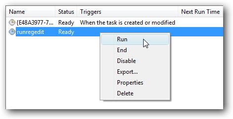 run task
